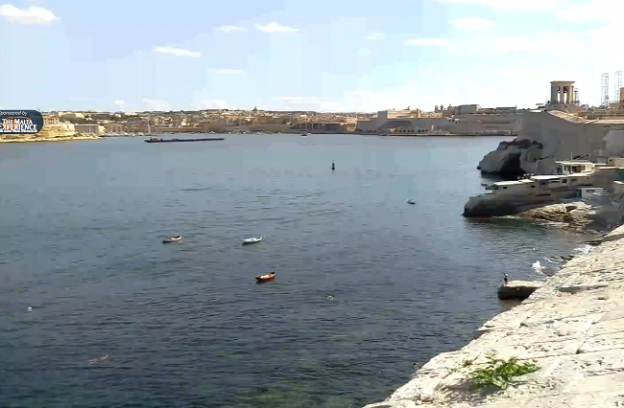Seafront of Valletta