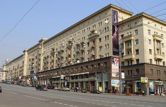 Webcam of Moscow overlooking on the Tverskaya Street